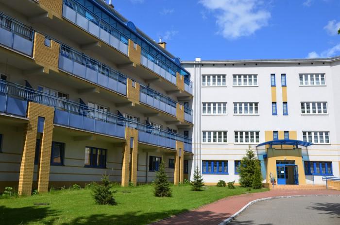 Dom Pomocy Społecznej w Białymstoku - Wejście do budynku D