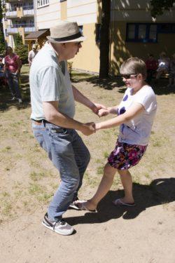 Tańcząca para.